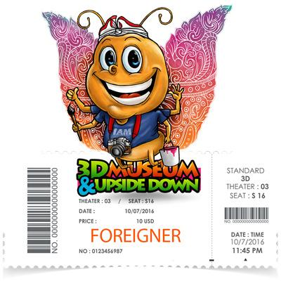 Foreigner Ticket